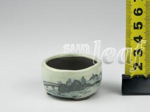 """Горшок для мини бонсаи серия""""Пейзажи"""""""