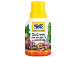 Жидкое удобрение для кактусов и суккулентов