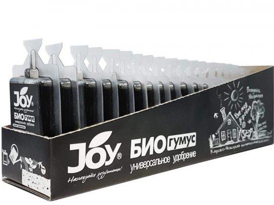 Органическое удобрение JOY БИОГУМУС, монодоза, 40 мл
